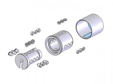 Yalele sunt realizate din 9 pin-uri de codificare, situate în trei axe într-un sistem cu spirală. Codificarea este digitală - programabilă în sistemele Codkey sau Locksys.