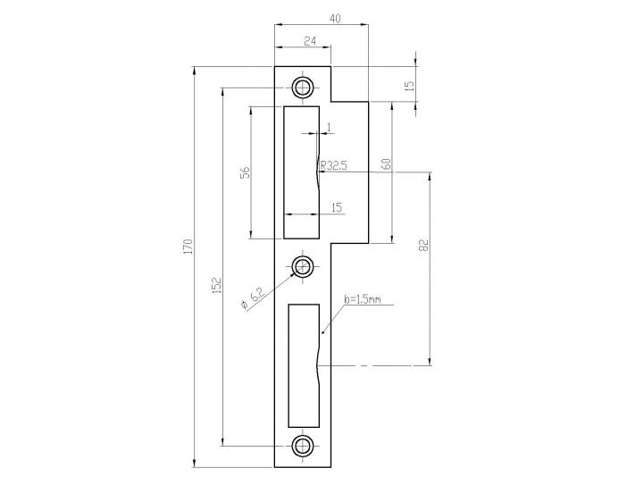 NSR_ 4510-60мм-b=1.5-1.4301